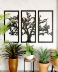 Country Oak Tree Metal Art Work