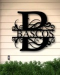 Personalized Family Name Metal Sign