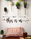 This is Us Metal Wall Art